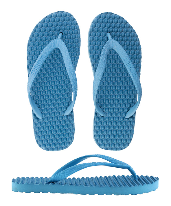 Souls Thongs Original Massage Denim Blue