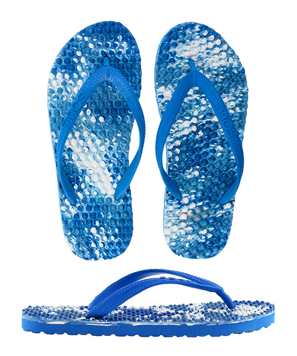 Souls Thongs Original Massage Ocean Blue Multi