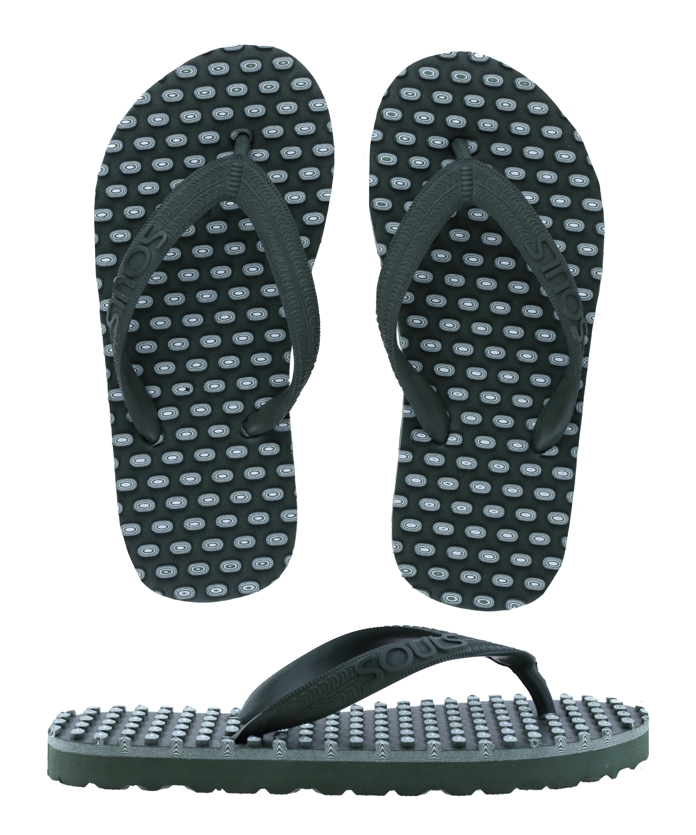 Souls Thongs Outdoor Green - Kids Style