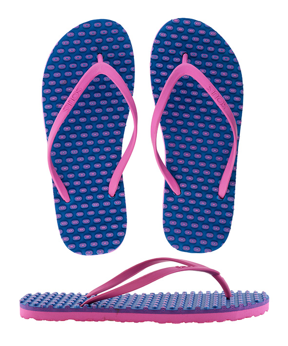 Souls Thongs Comfort Massage Pink Marine